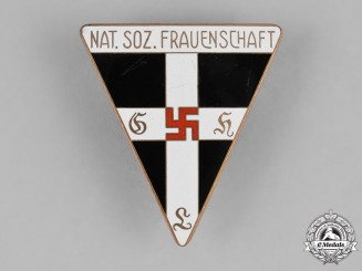 Germany, NS-Frauenschaft. A National Socialist Women's League Membership Badge by L. Christian Lauer