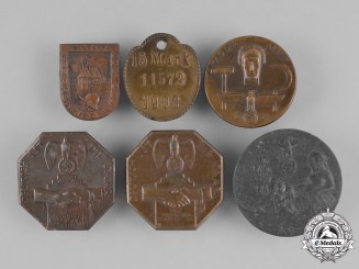 Germany, Third Reich. A Grouping of Second War German Day Badges