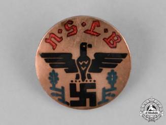 Germany. A National Socialist Teachers League Membership Badge