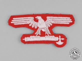 Italy, SS. An Italian SS EM/NCO's Sleeve Eagle