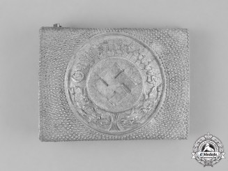 Germany, Ordnungspolizei. A Standard Police Enlisted Man's Belt Buckle