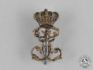 Romania, Kingdom. A Queen Elisabeth of Wied Badge, c.1900