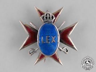 Romania, Kingdom. A Romanian Officer's Badge, c.1930s