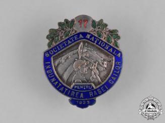 Romania, Kingdom. A National Society for the Improvement of Horses Badge, 1923