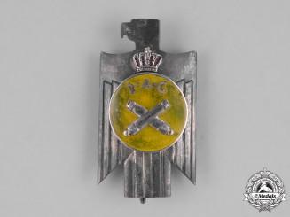 Romania, Kingdom. A II Artillery Guard Regiment Badge, c.1930