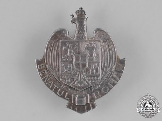 Romania, Kingdom. A Senator's Badge, c.1930