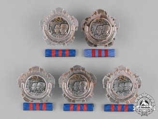 Yugoslavia, Republic. Five Orders of Labour; 3rd Class