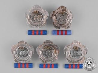 Yugoslavia, Republic. Five Orders of Labour; 3rd Class