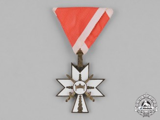 Croatia, Independent State. An Order of King Zvonimir, 3rd Class Knight, c.1942