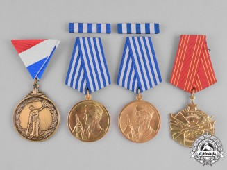 Croatia, Republic, Yugoslavia, Socialist Federal Republic. Four Awards