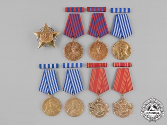 Czechoslovakia, Socialist Republic. Yugoslavia, Socialist Federal Republic. Eight Awards