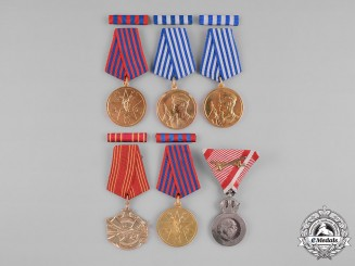 Austria, Empire., Yugoslavia, Socialist Federal Republic. Six Awards