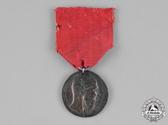 Mexico, II Empire. A Merit Medal, Military Division, stamped Navalon G., II Class c.1865