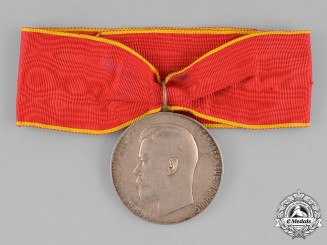 Russia, Imperial. An Imperial Russian Medal for Zeal, Silver Grade