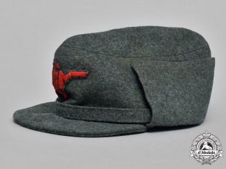 Italy, Guardia Nazionale Repubblicana. A Field Cap, c.1944