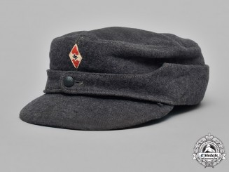 Germany, HJ. A 1944 HJ Flak Helper's Cap