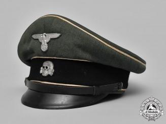Germany, Waffen-SS. An NCO's Visor Cap, by SUBA Mützenerzeugung