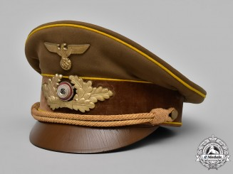 Germany, NSDAP. A Reichsleitung Level Visor Cap, Published Example