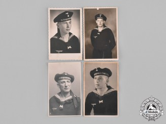 Germany, Kriegsmarine. A Lot of German Navy Picture Postcards and Photographs