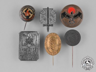 Germany, Third Reich. A Group of Second War Period Stick Pins and Day Badges