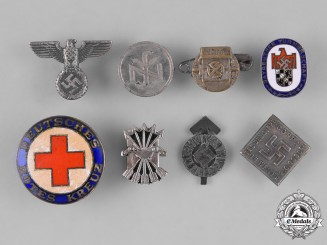 Germany, Third Reich. A Group of Second War Period Day Badges