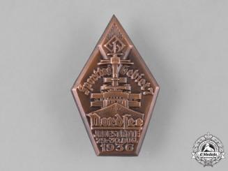 Germany, HJ. A 1936 HJ Region 7 Sport Day Badge