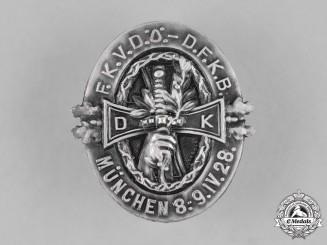 Germany, Weimar. A FKVDÖ-DFKB Day Badge