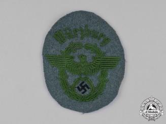 Germany, Ordnungspolizei. A Würzburg Schutzpolizei Sleeve Eagle