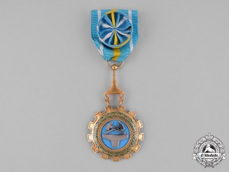 Cambodia, Kingdom. A Royal Order of Labour Merit, II Class Officer (Officier / Senea)