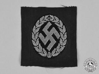 Germany, Ordnungspolizei. A Schutzmannschaft (Auxiliary Police) Collaborator's M43 Cap Insignia