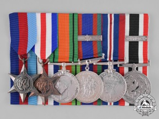 Canada. A Second War and Special Service Medal Group