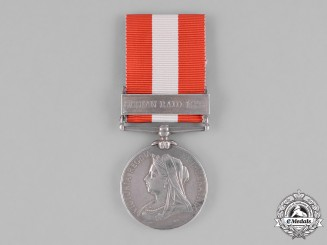 United Kingdom. A Canada General Service Medal, Kincardine Infantry Company