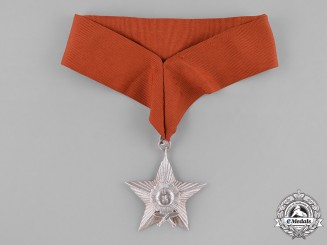 Nepal, Federal Democratic Republic. A Most Puissant Order of the Gorkha Dakshina Bahu, IV Class