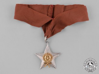 Nepal, Federal Democratic Republic. A Most Puissant Order of the Gorkha Dakshina Bahu, V Class