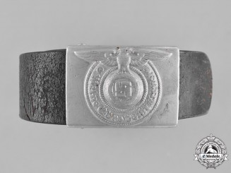 Germany, SS. An Enlisted Man's Belt and Belt Buckle, c.1938