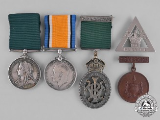 Canada. An Officer's Colonial Long Service Trio to Lieutenant Colonel/Major Lennox Irving