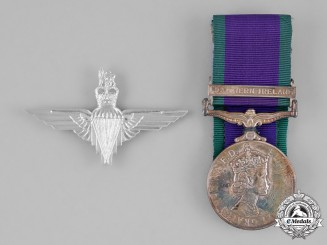 United Kingdom. A General Service Medal, to Private D.A. Watts, Parachute Regiment