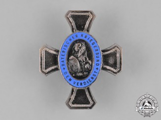 Germany, Weimar. A Bavarian Warrior League Honour Cross by Deschler & Sohn