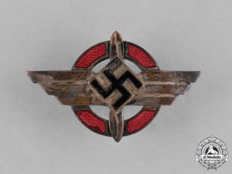 Germany, DLV. A Deutscher Luftsportverband (German Air Sports Association) Membership Badge