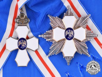 Iceland, Republic. An Order of the Falcon, Grand Cross, by Kjartan Asmundsson, c.1950