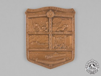 Canada. A Second War 16th Canadian Field Company, Royal Canadian Engineers Plaque