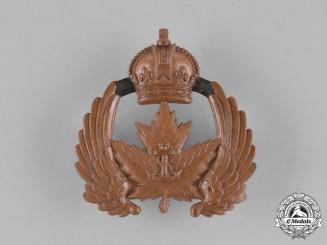 Canada. A Royal Canadian Naval Air Service Cap Badge