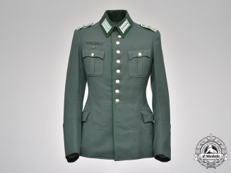 Germany, Heer. A Gebirgsjäger (Mountain Troops) Officer's Dress Tunic