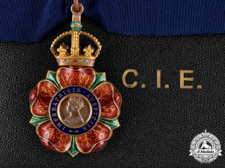 United Kingdom. A Most Eminent Order of the Indian Empire, Companion (CIE)