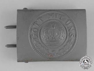 Germany, Empire. An Imperial German Army EM/NCO Belt Buckle