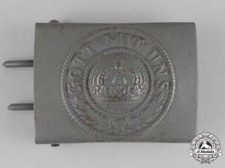 Germany, Heer. A First War Period Heer (Army) EM/NCO's Belt Buckle