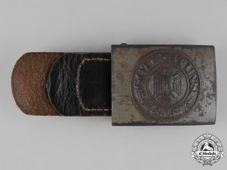 Germany, Heer. A Heer (Army) EM/NCO's Belt Buckle