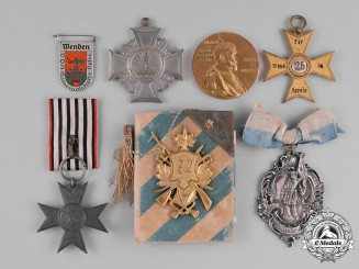 Germany, Imperial. A Group of First War Period Medals & Badges
