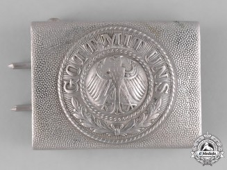 Germany, Heer. A First War Period Heer (Army) EM/NCO's Belt Buckle