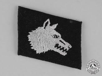 Germany, SS. An Osttürkischer Waffen-Verband der SS Collar Tab